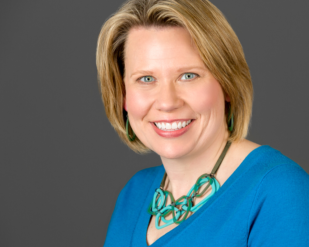 Jen Polzin Promoted to CEO Tubman, professional headshot