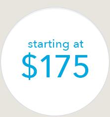 Starting at $175